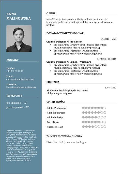 cv wzory   kreator do formatu pdf
